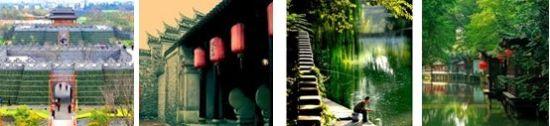 浏览扬州景点