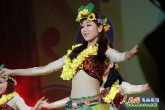 欢乐节上的歌舞表演
