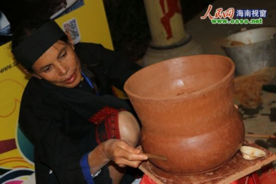 黎族原始制陶
