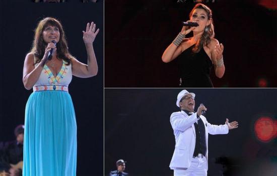 2013年外国歌手演绎中国民歌