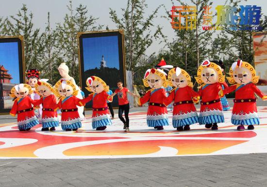北京国际旅游节盛装表演花絮