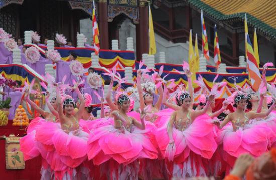 佛教盛典《观世音》大型舞台剧首演