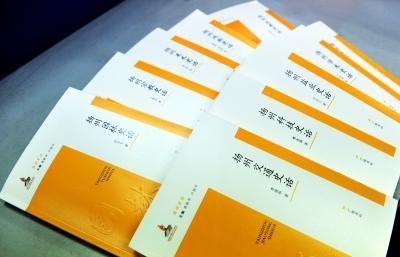 《扬州史话丛书》正式面世。刘江瑞 摄