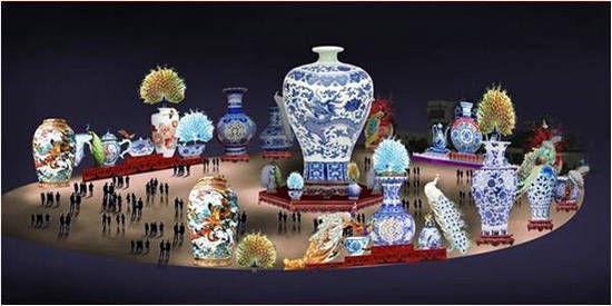 中国印象(图片由自贡旅游局提供)