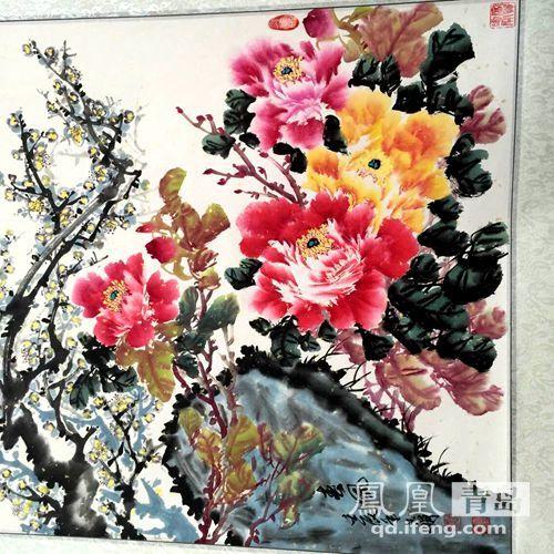 中国国画院山东分院组织梅文化书画精品展