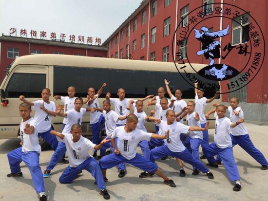 河南嵩山少林寺俗家弟子培训基地武术表演团少林18罗汉