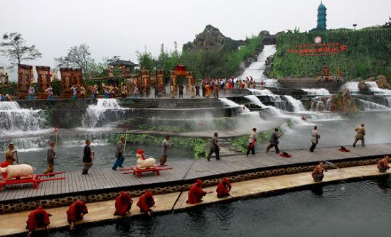 都江堰清明放水节
