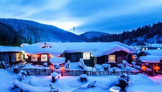 呼伦贝尔雪景